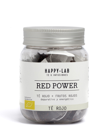 TÉ ROJO RED POWER ECOLÓGICO
